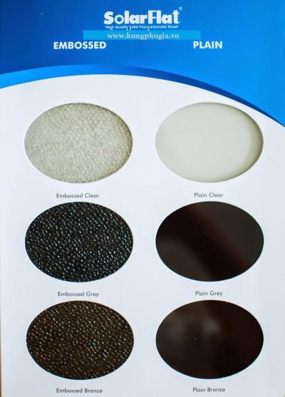 Tấm Lợp Lấy Sáng Polycarbonate Đặc Ruột SoLarFlat - Indonesia